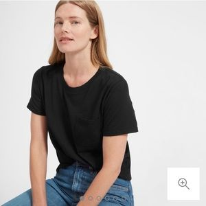 Everlane Cotton Box Cut Pocket Tee